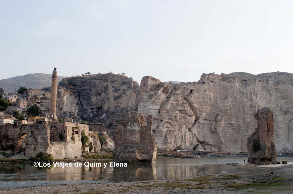 Hasankeyf junto al Tigris, salvar Hasankeyf