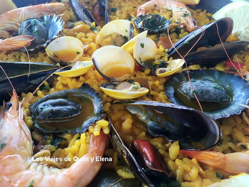 Paella en Lanzarote