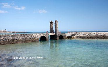 Puente de las bolas en Arrecife