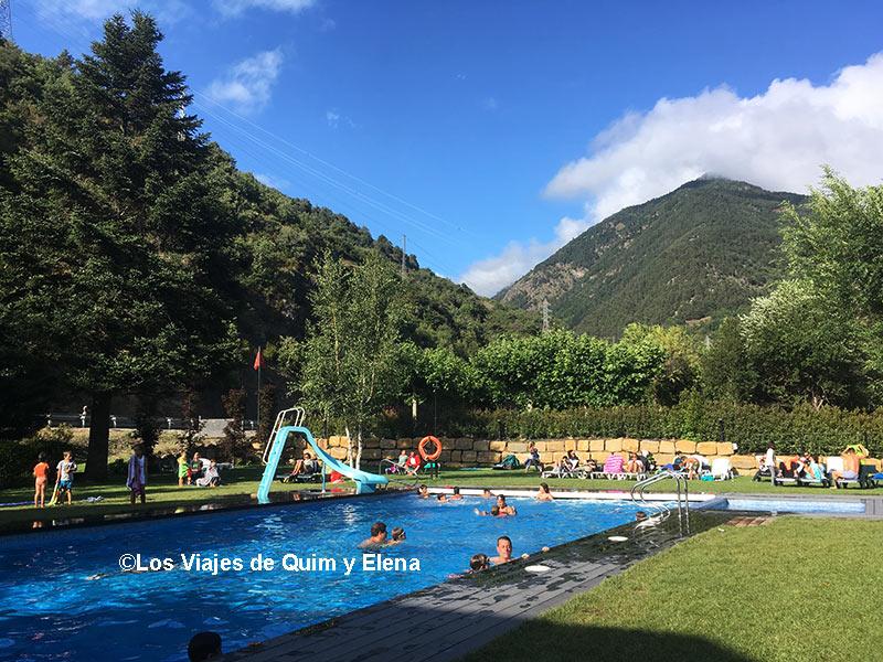 Camping con niños en Vall D'Aran