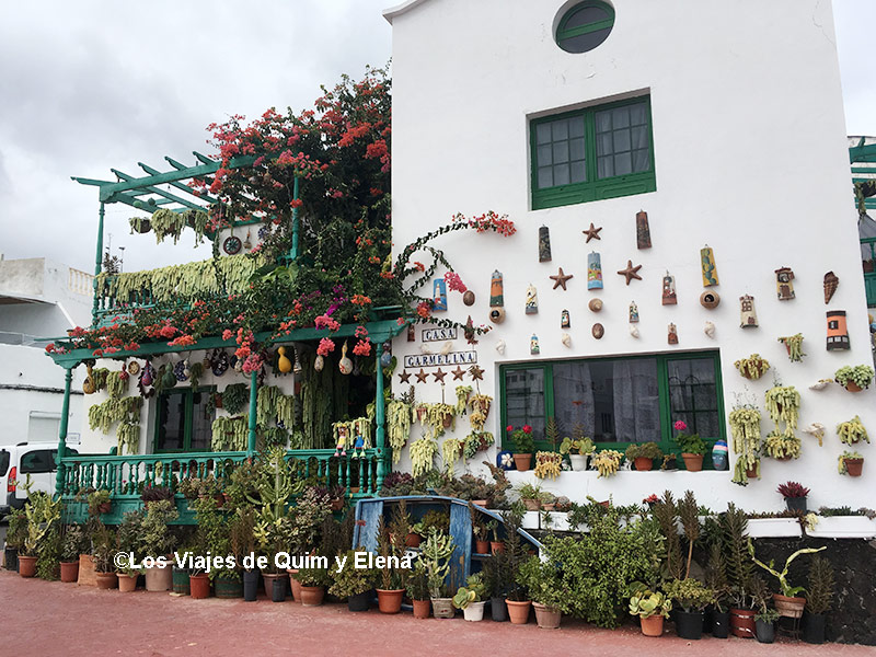 Una casa llena de plantas en Punta Mujeres