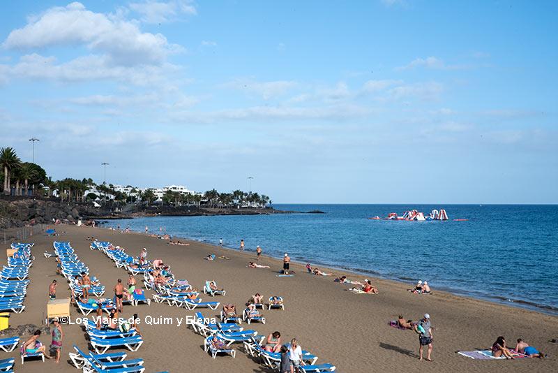 Playa en Puerto del Carmen