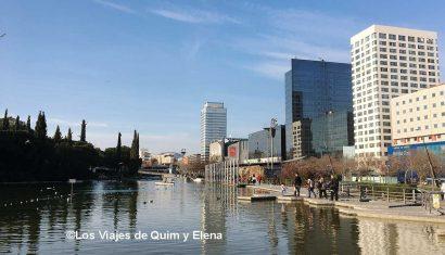 Panorámica del Parc de Catalunya