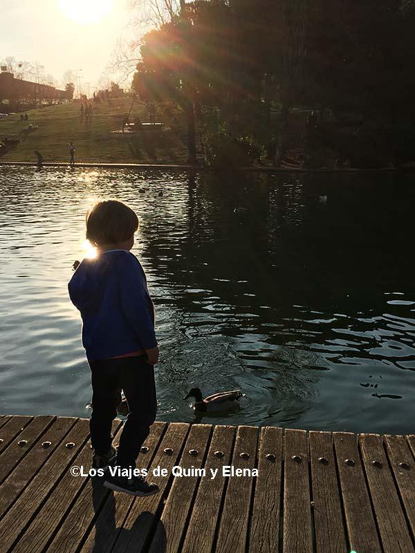 Éric en el Lago