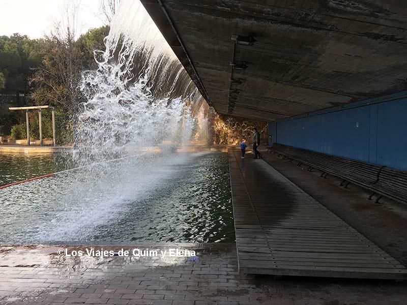 La super cascada del Parc de Catalunya