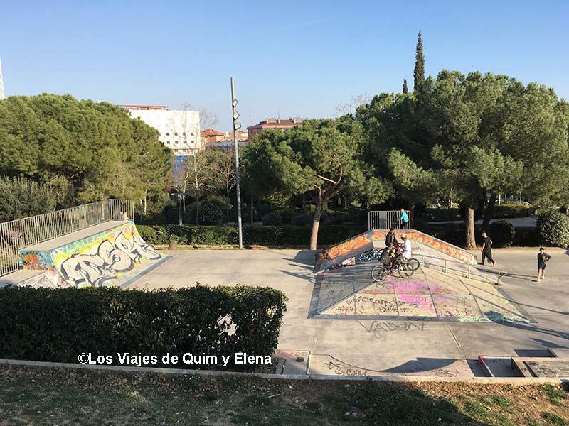 El Skate Park del Parc de Catalunya