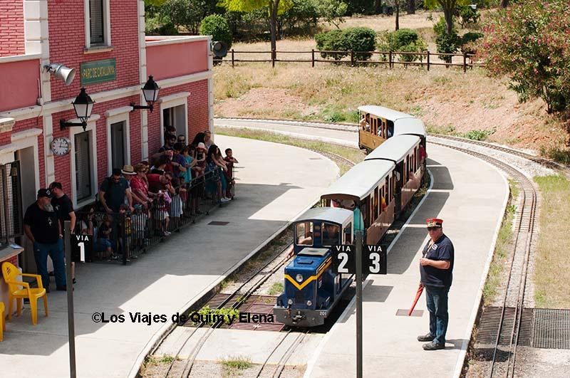 Los trenes en miniatura de Can Rull