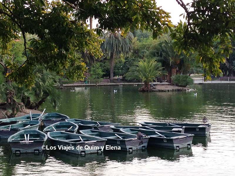 La barcas del lago