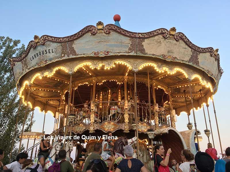 El Carrusel del Parque de Atracciones Tibidabo