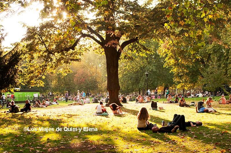 St. James's Park en el centro de Londres