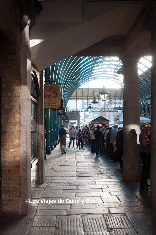Dentro de Covent Garden
