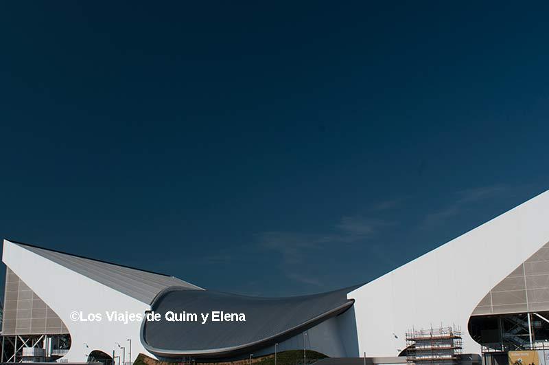 Centro acuático de la Zona Olímpica