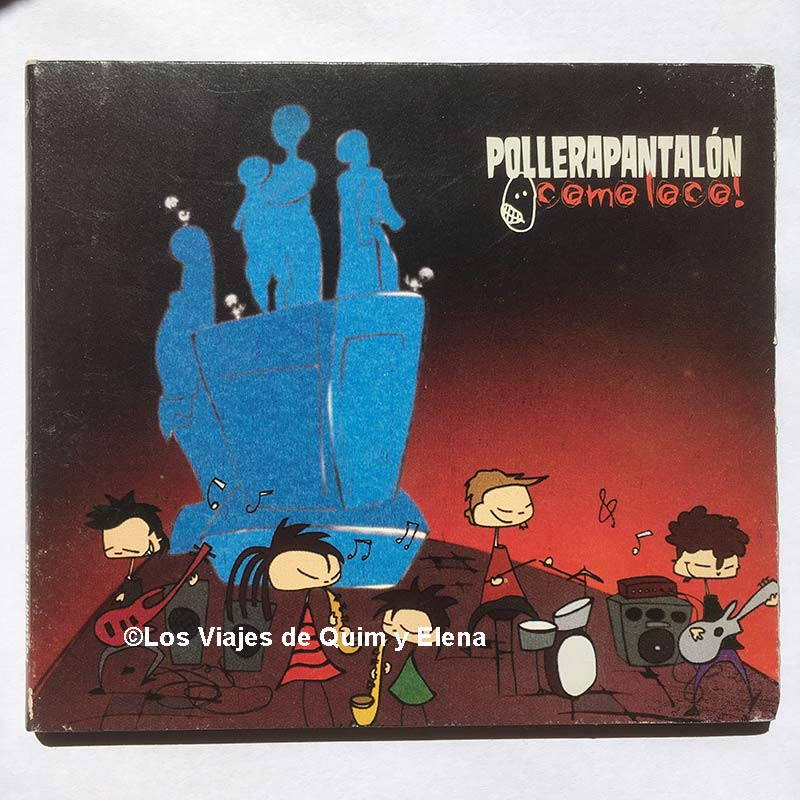 El CD de Pollerapantalón que compramos en Argentina