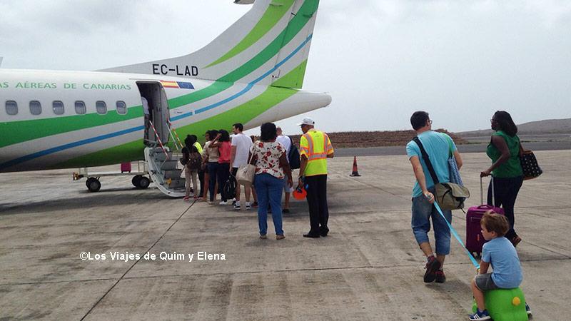 Embarcando en Cabo Verde