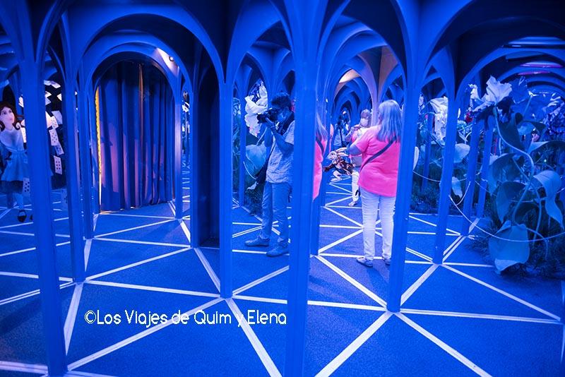 El mundo de Alicia en el Big Fun Museum