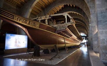 Galera en el Museu Martitim