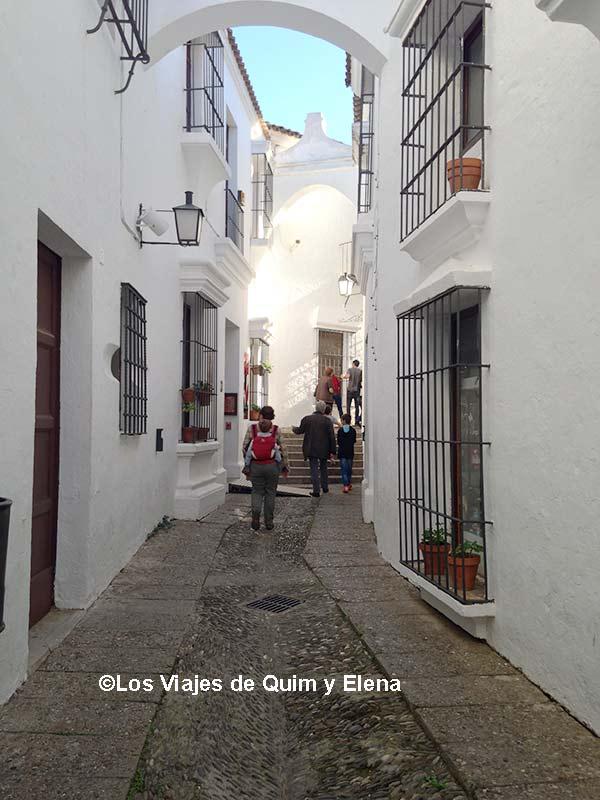Calle andaluza en el Pueblo Español
