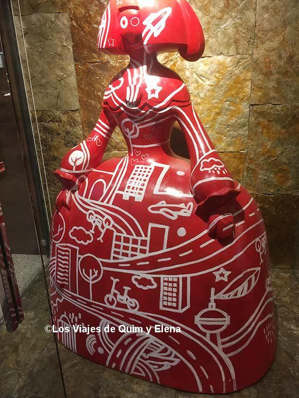 Entrada del Hotel Corona de Aragón