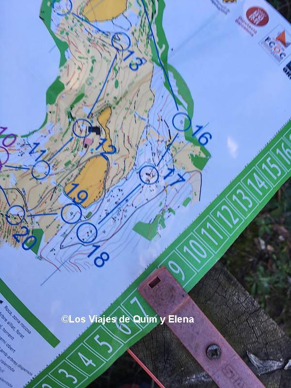 Guía circuitos de orientación permanentes en Cataliuña