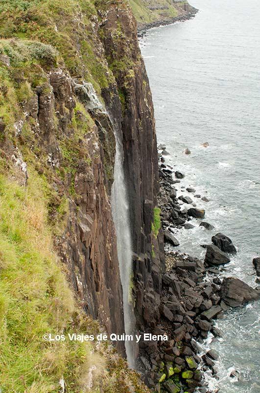 La cascada de Kilt Rock