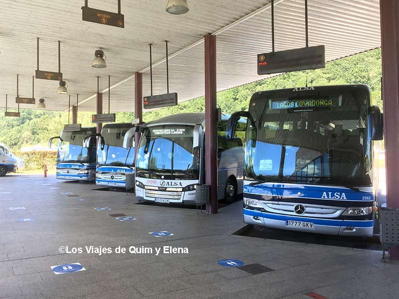 Estación de autobuses de Cangas de Onís