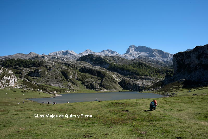 Panorámica de el Lago La Ercina