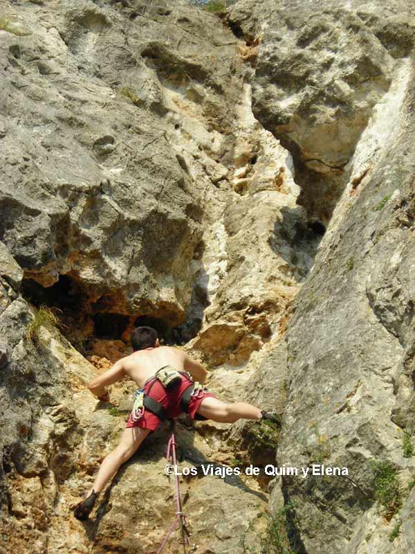Escalando en Eslovenia hace más de 10 años