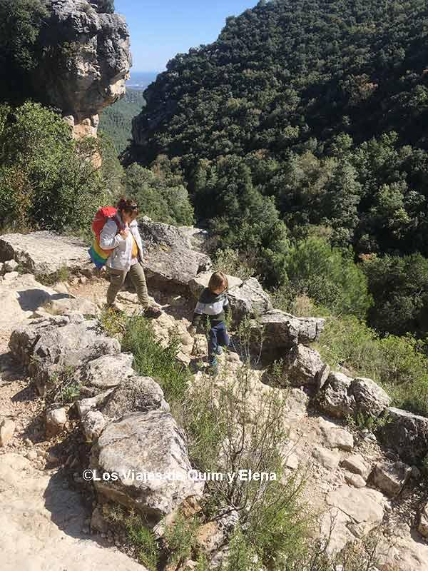 En el camino a les Fonts del Glorieta