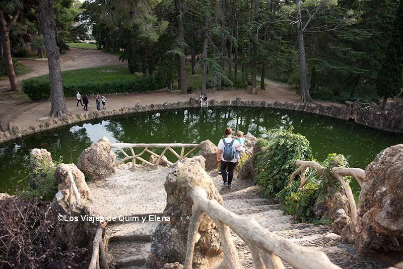 Lugares increíbles del Parc Samà