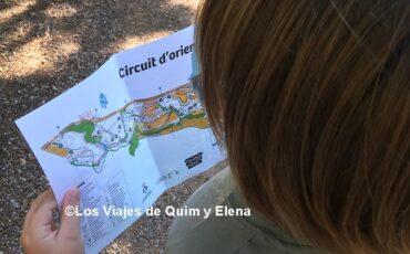 Circuito de orientación con niños en Can Cases