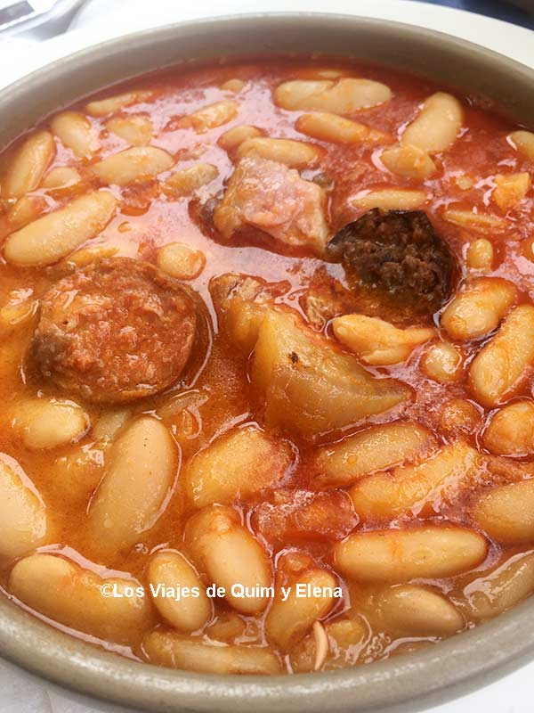 Fabada del restaurante Rocamar, Restaurantes en Asturias