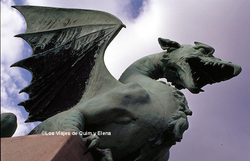 Puente del Dragón, ruta en coche por Eslovenia