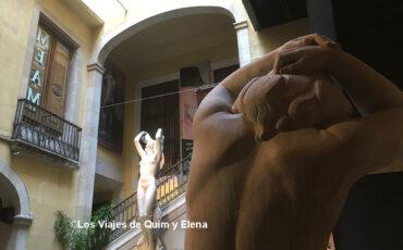 Patio de entrada del MEAM, Museo europeo de arte moderno