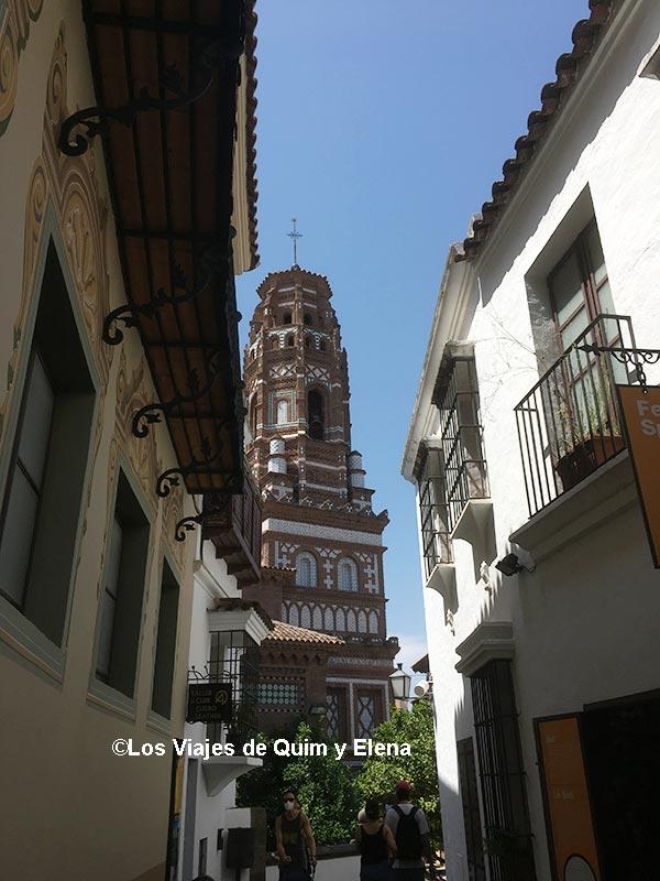 Torre de Utebo en el Pueblo Español en Barcelona