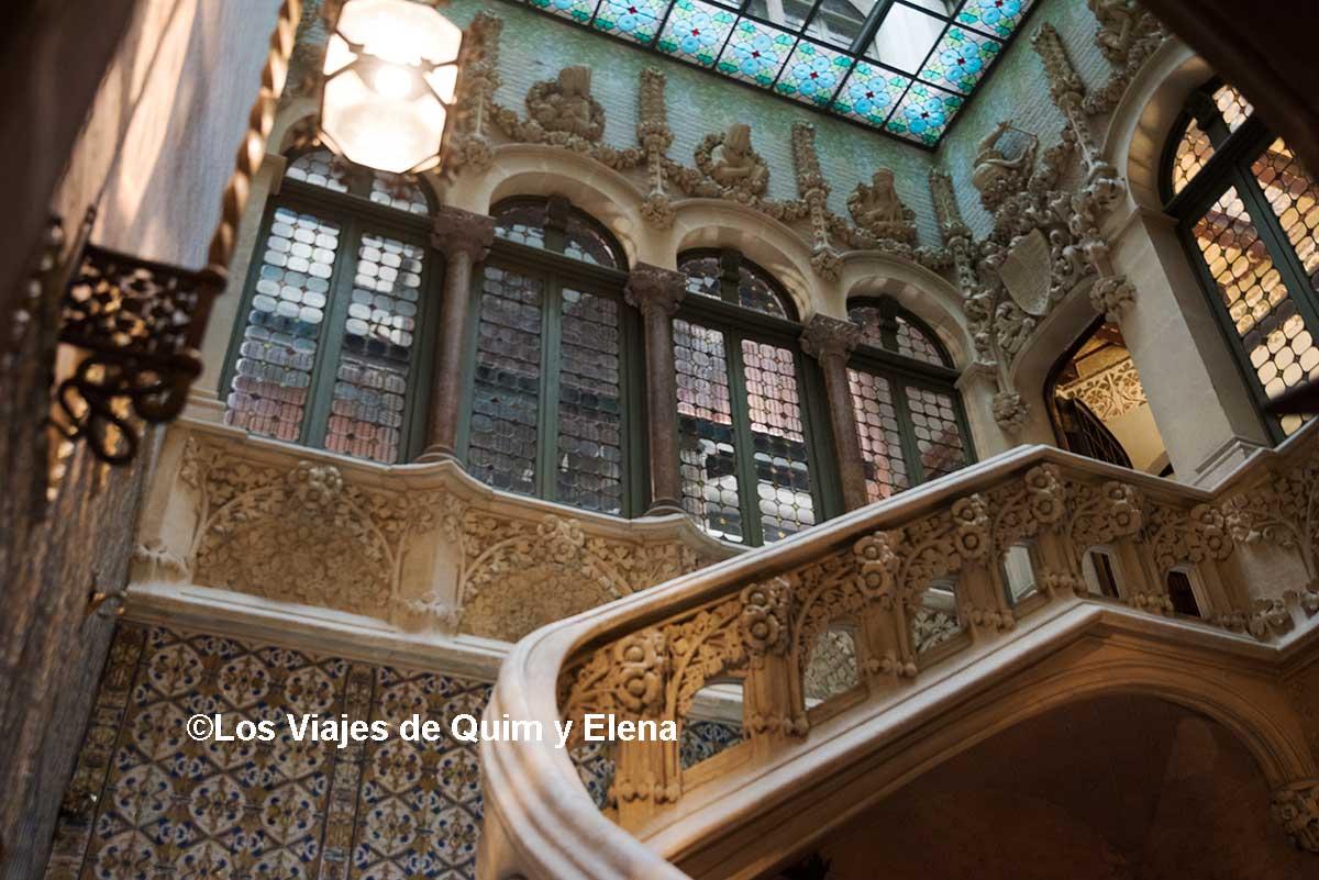 Palacio del Barón de Quadras - Los viajes de Quim y Elena